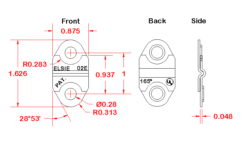 fusible-links-model-E-spec